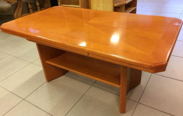 659 konferenční stolek z jilmového masívu