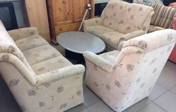 78 pohodlná sedací souprava 3+2+ televizní křeslo,pohovky 180+135cm ,cena 4470Kč