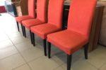 605 čtyři čalouněné židle Ikea ,kus po 390Kč