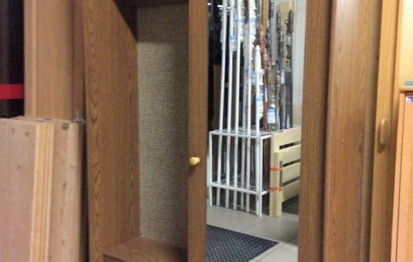 825 hnědá předsíňová skříň s posuvnými dveřmi 120x35x200cm za 2690Kč