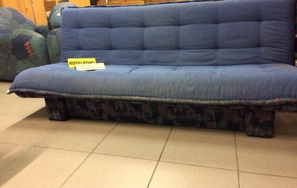 827 rozkládací pohovka modrá-200cm s úl.prosorem za 2650kč