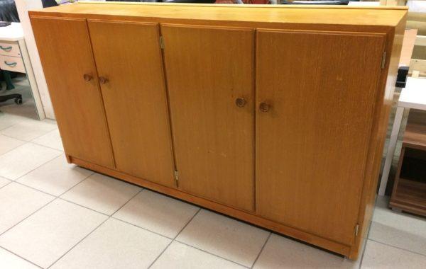 971 hnědý dřevěný botník 180x40x100cm za 2450Kč