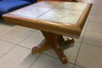 161 konferenční stolek s dlažbou 70x70x45cm za 1450Kč