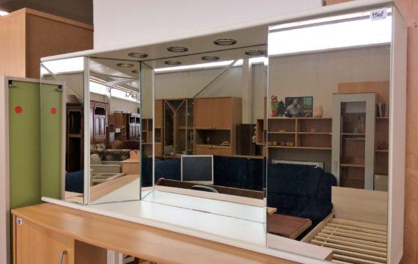 683 koupelnová zrcadlová závěsná skříň 140x23x65cm za 1140Kč