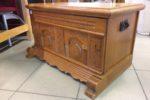 300 rustikální dubová truhla 90x52x52cm za 1980Kč