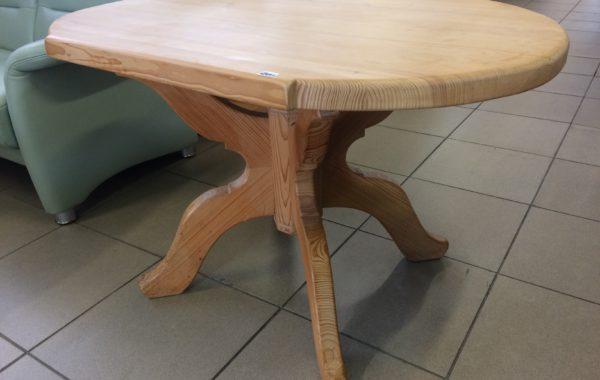 653 smrkový masívní stůl 105x74x66cm ,melakovaný,jen vosk za 1970Kč