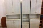 670 studentský pokoj ze tří skříní -šířky 50+95+70cm,výška 200cm,cena 5790Kč