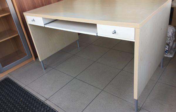 765 psací stolek z Ikea světlý šuplíkový 130x75x77cm za 1980Kč