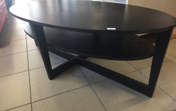 840 oválný černý stolek 140x65x47cm za 1140Kč