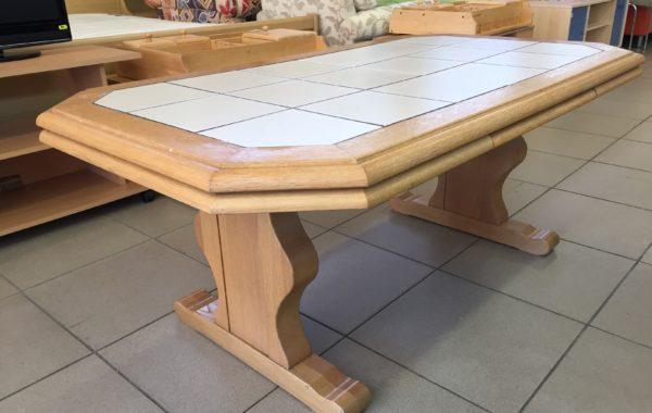 886 rozkládací a zvedací konferenční i jídelní stůl 140x80x60cm,po rozl.180x80x72cm za 1940Kč