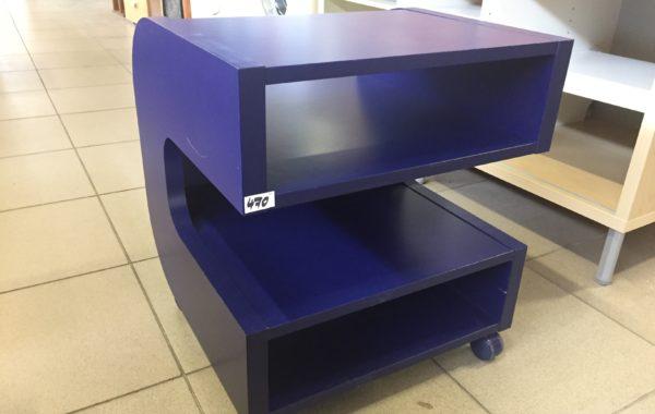 927 fialovomodrá skříňka Ikea Ilen na kolečkách ,50x50x56cm za 470kč kus
