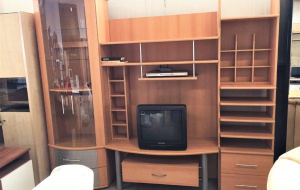 370 moderní světlá obývací stěna třídílná 250x55x210cm za 4630Kč