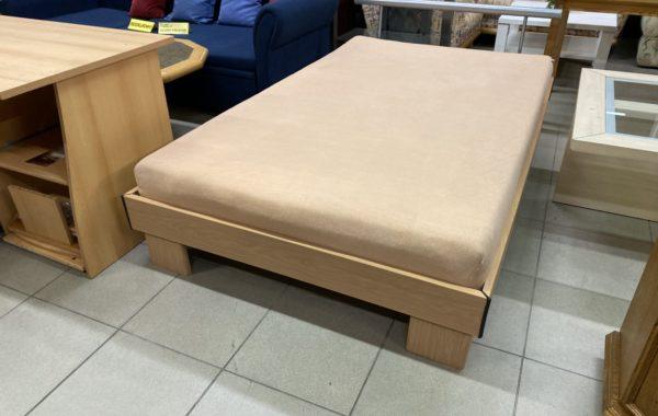 642 postel 120x200cm s pratelnou matrací a lamelovým roštem za 2890Kč