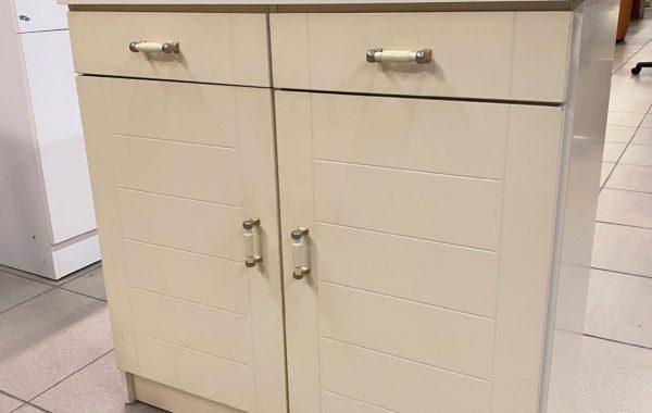 795 bílá policová komoda-botník 80x40x80cm za 1370Kč