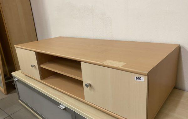 861 televizní nízký stolek 125x50x30cm za 560Kč