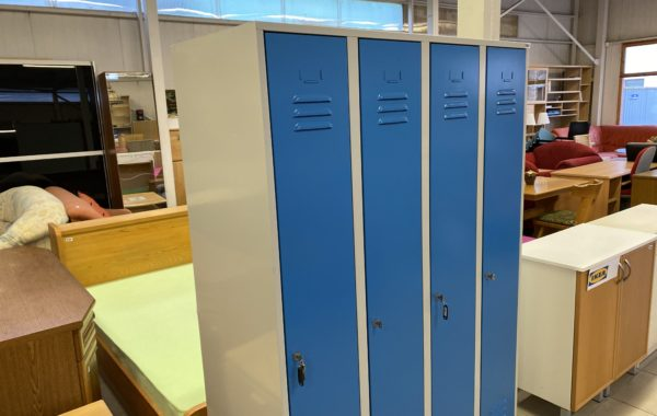 177 zánovní industriální skříně-uzamykatelné 120x50x175cm ,kus po 2960Kč
