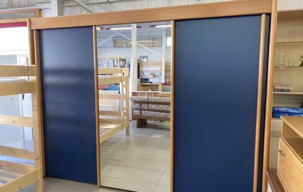 209 třídveřová moderní skříň s posuvnými dveřmi 300x62x220cm za 6890Kč