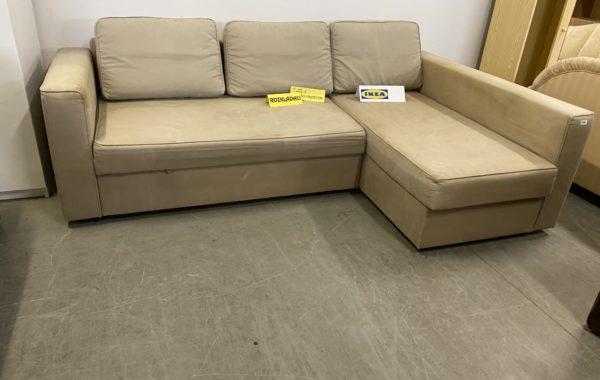 455 IKEA Manstad rozkládací rohová sedačka s úložným prostorem 235x150cm za 3980Kč