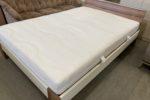 718 140cm postel s polohovatelným roštem a pratelnou kvalitní matrací 140x200cm za 3760Kč