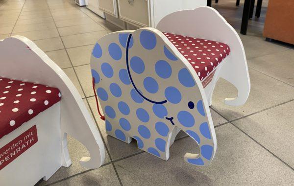 318 dětská stolička s úl.prostorem na hračky 33x33x35cm za 270Kč