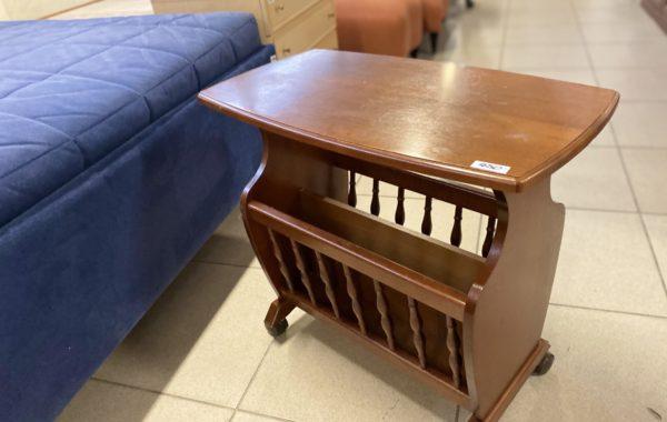 317 odkládací dřevěný stolek -mahagon odstín 60x33x56cm za 450Kč