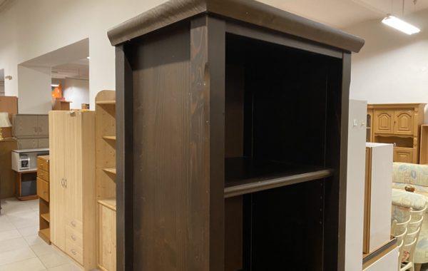 536 IKEA Markor úzký smrkový regál-lazurované dřevo 46x35x192cm za 1340Kč
