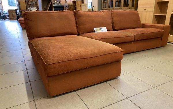442 IKEA Kivik rohová sedací souprava 290x180cm,dvě křesla a taburet  za 8950Kč
