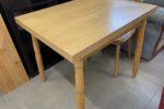 549 světlý jídelní,rozkládací stůl 85 x 65 x 75cm za 1260Kč