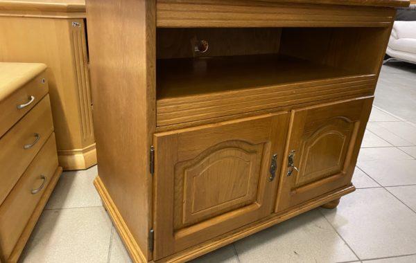 274 rustikální dubová skříňka 90x50x80cm vysoká za 1880Kč