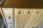 322 šuplíková komoda s bukovými čely 83x41x108cm za 2430Kč