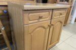 234 dvoudvéřová rustikální kuchyňská skříňka 80x50x85cm za 1980Kč